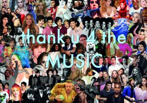 Nytt tema: THANK U 4 THE MUSIC!