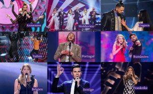 Eurovisionvecka: Vi poängsätter finalisterna