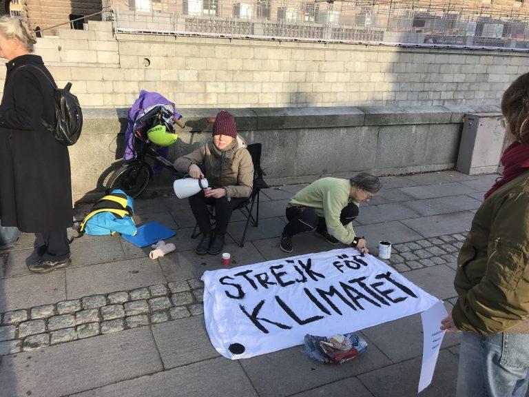 """""""Ju mer man skjuter fram det, desto större blir smällen"""" – Reportage från """"Skolstrejk för klimatet"""""""