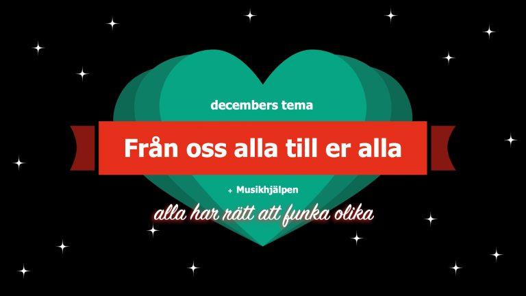 Decembers tema